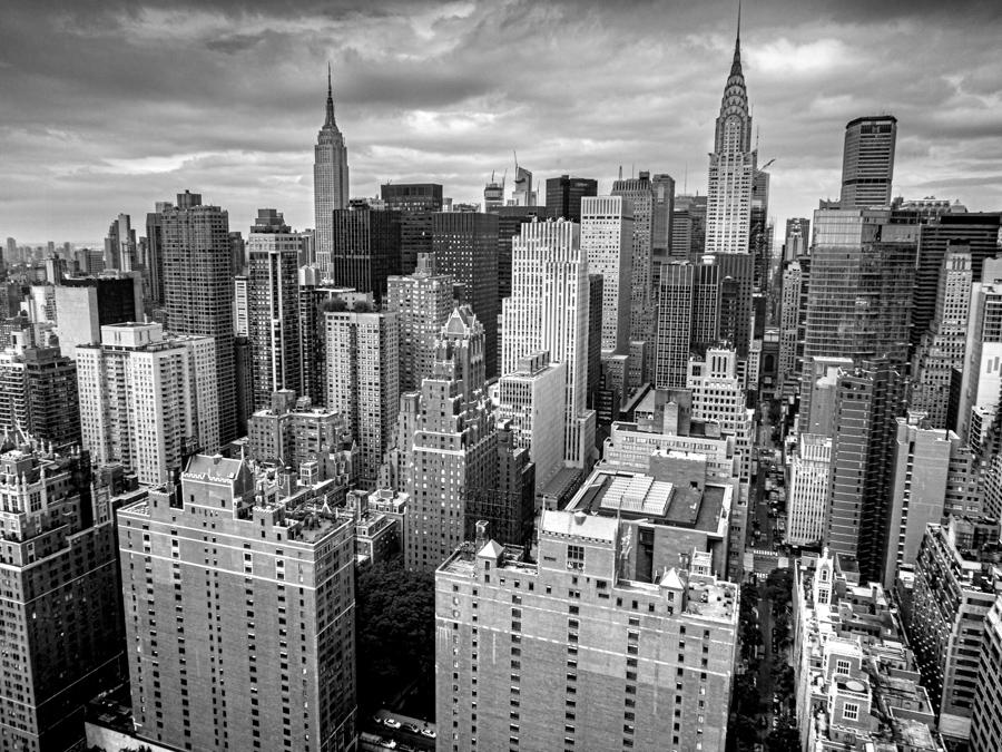 vue panoramique buildings à New York